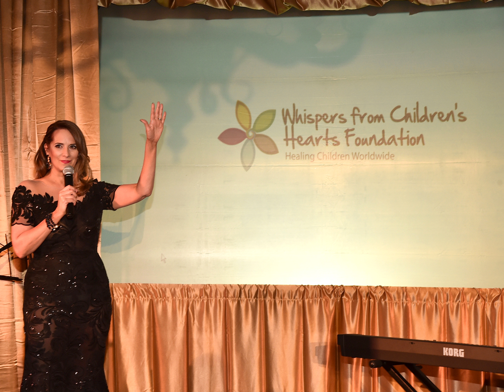 SANTA MONICA, CA - MARCH 24, 2017: Host Lisa Haisha at the 3rd Annual Whispers From Children's Heats Foundation Legacy Charity Gala. (Photo by Alberto E. Rodriguez/Getty Images)