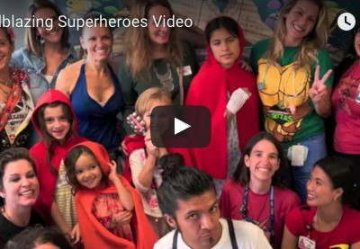 Superhero Capes of Courage