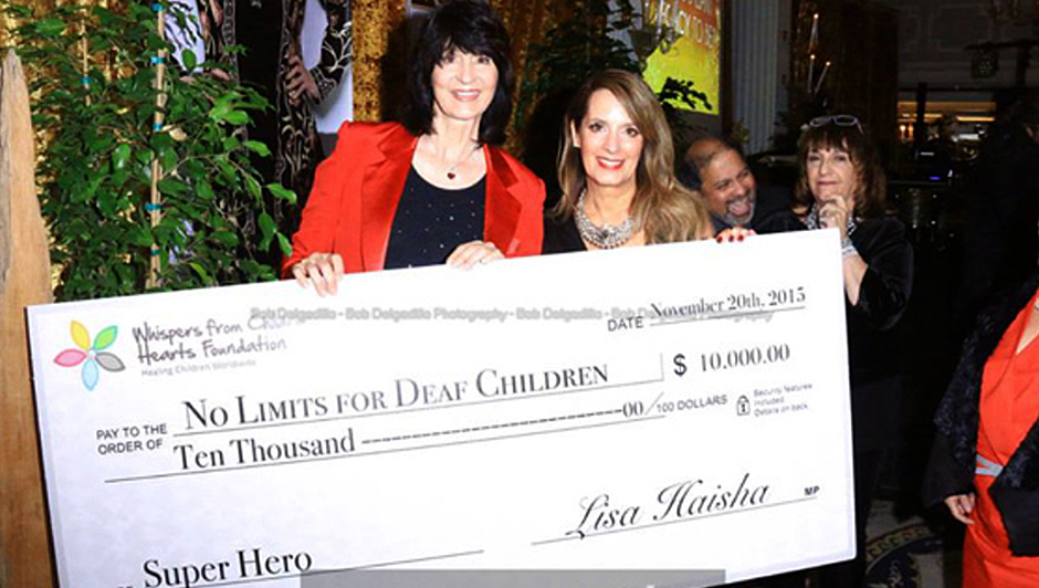 No Limits for Deaf Children Donation